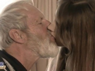 Daddy Daughter Kissing Old and Young Strapon Teen Young