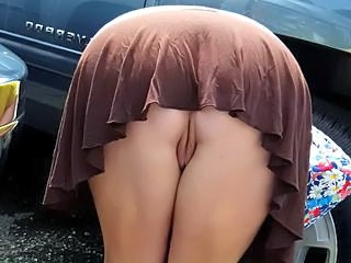 Ass Outdoor Pussy Strapon Upskirt