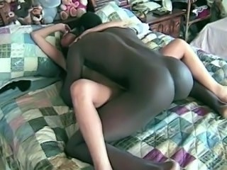 Hardcore Interracial MILF Strapon