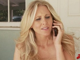 Blonde Mature Pornstar Strapon