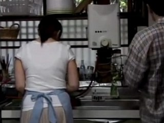 Asian Kitchen MILF Strapon Vintage Wife