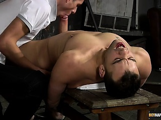 Matt gets the full treatment from horny and hung Luke in