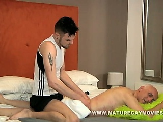 Grandpa Gets Fucked By Young Masseur