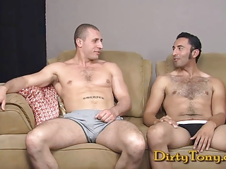 Muscle Stud Pounds Uncut Latino