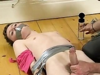 Small young boys porno The skimpy guy gets his sensitive don