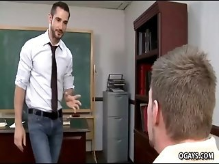A Teacher&#039_s Crush on a handsome student