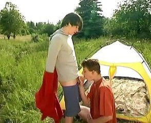 Roman and Josh Outdoor Sex