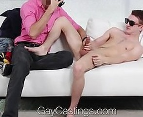 HD - GayCastings Archer Hart is eager to get fucked on casting couch