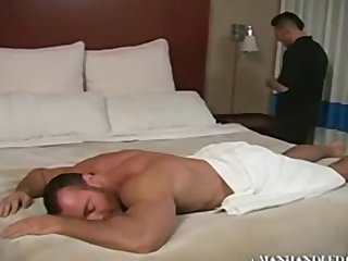 Brad Kalvo Dad massage