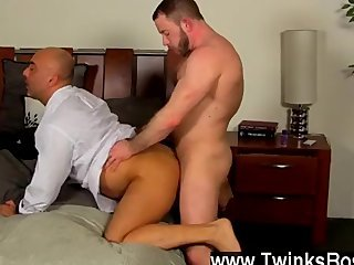 Gay fuck The daddies kick it off with some real kinky penis sucking, with