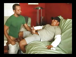 Two buddies jacking off plus some tranny cumshots