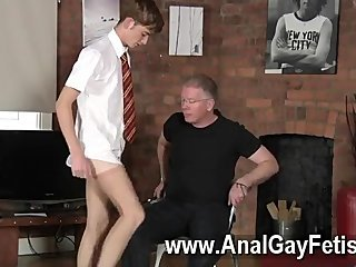 Gay orgy Spanking The Schoolboy Jacob