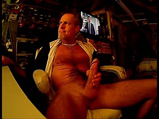 Hung Thick Cock Jerking N  Cum