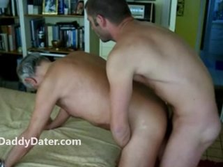Well Hung Jock fucks Old Daddy Grandpa with No Condom