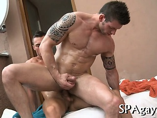 anal games, homosexual, muscle