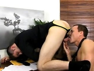 Gay twinks Jason's rock hard chisel and swinging nuts are pr
