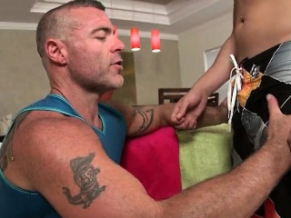 Massage pro in deep anal wrecking gay part3