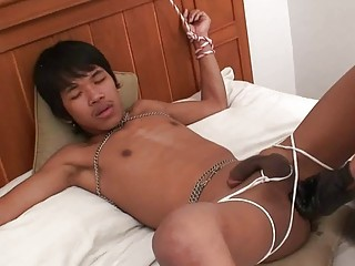 Tight Asian Ass Bareback Carrot Insertion