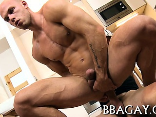 Naughty wang riding with gay stud