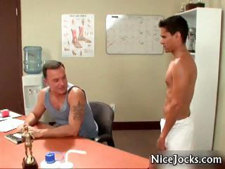 Sexy jocks fucking and sucking gay porn part