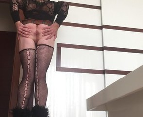 Turkish Aysem- Sexy Secretary Upskirt And Ass