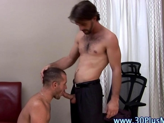 Stud sucks his boyfriends cock and tugs on it