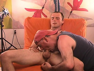 I got my tongue in str8 dude's hole and his cock in mouth.