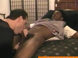 Straight seduced black dudes first gay bj