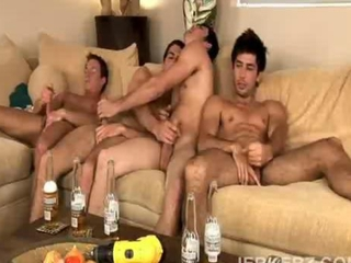 Gay Blowjob party