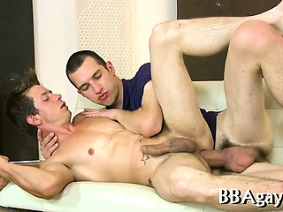 Lewd gay sex with hot dudes