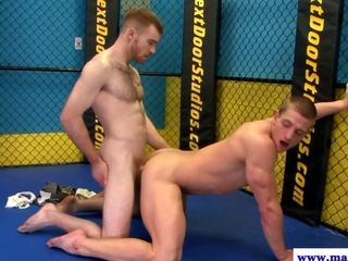 Hot jock plays the gay bottom bitch