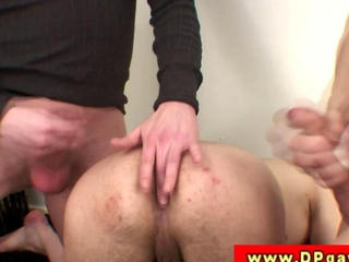 DP amateur twink in double penetration