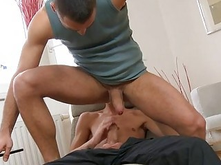 Taming a horny gay pecker