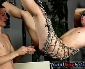 Old man porn tubes gay Aiden is blindfolded and swinging, trussed into