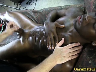 Straight guys masseurs hands on massage
