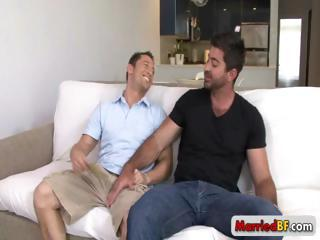Married man gets dick sucked part