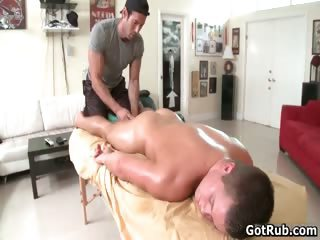 Hot muscled hunk takes big stiff gay part4