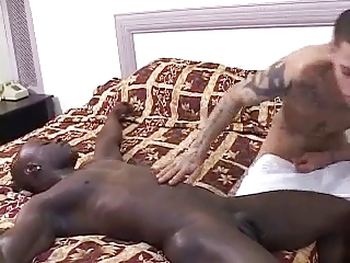 Hot Interracial Tattools Steamy Fuck