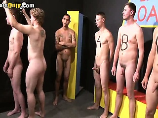 Cute Frat Men Stripped And Manhandled