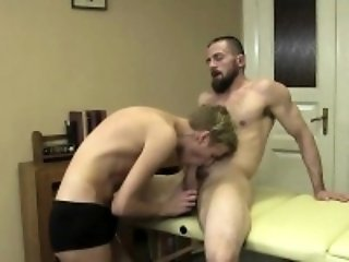 Alan is a skinny young twink who gives a hot erotic massage