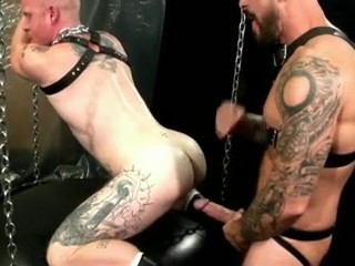 Leather Daddies Going At It!
