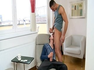 Salacious anal drilling with males