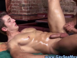 Nasty stud tears down a hunks hot ass