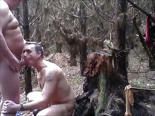 group fuck in forest