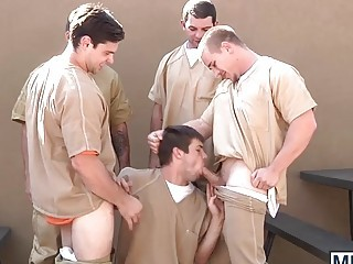 anal games, big cock, blowjob, boys, factory