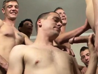 blowjob, bukkake, group sex, homosexual, twinks