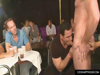 Stripper goes to college party
