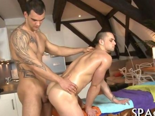 Twink gagging on a dick deep