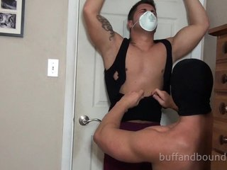 Power Man Bondage video
