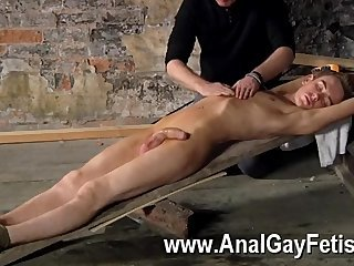 Amazing twinks British lad Chad Chambers is his recent victim, confined